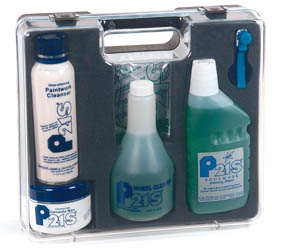 P21S - Auto Care Set with carrying case - Green