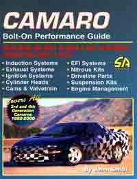 Cartech (SA Design) - Camaro Bolt-On Performance Guide - Paperback